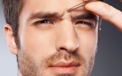 Consejos para depilar cejas de hombre